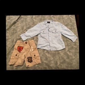 9-12 mo outfit for baby boy.